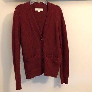 LOFT wool blend cardigan
